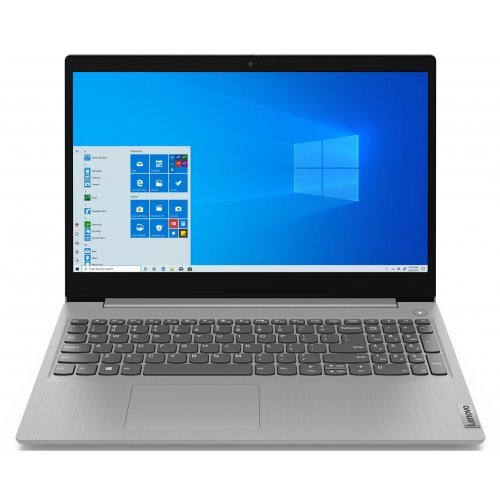 Лаптоп LENOVO IdeaPad 3 i5-1035G1 15.6inch FHD AG 8GB DDR4 256GB SSD Win10 2Y Platinum (P) (снимка 1)