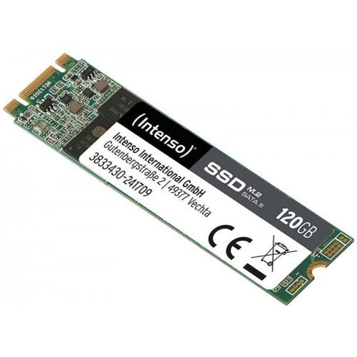 SSD Intenso HIGH 3833430, M.2, 120 GB, SATA3 (снимка 1)