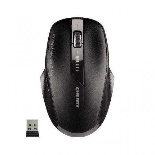 Мишка CHERRY MW 2310 2.0, Безжична оптична мишка, Черен (снимка 1)