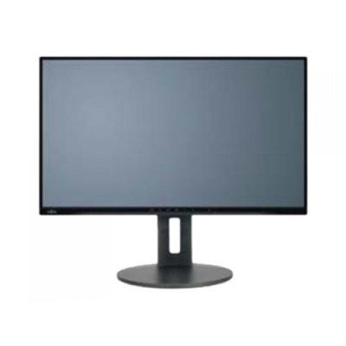 Монитор FUJITSU Display B27-9 27inch TS QHD EU Business Line Ultra Narrow 5-in-1 stand matt black DP HDMI DVI 4xUSB (снимка 1)