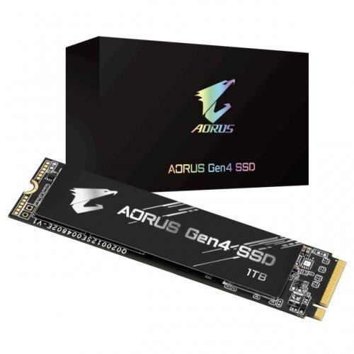 SSD Gigabyte 1TB AORUS NVMe PCIe Gen4 (снимка 1)