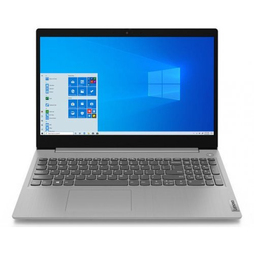 "Лаптоп Lenovo IdeaPad 3 15IIL05 (81WE00QKBM)(сив), четириядрен Ice Lake Intel Core i7-1065G7 1.3/3.9 GHz, 15.6"" (39.62 cm) Full HD TN Anti-Glare Display, (HDMI), 8GB DDR4, 512GB SSD, 2x USB 3.1, No OS (снимка 1)"