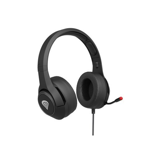 Слушалки Genesis Headset Argon 600 With Microphone Adapter Black (снимка 1)