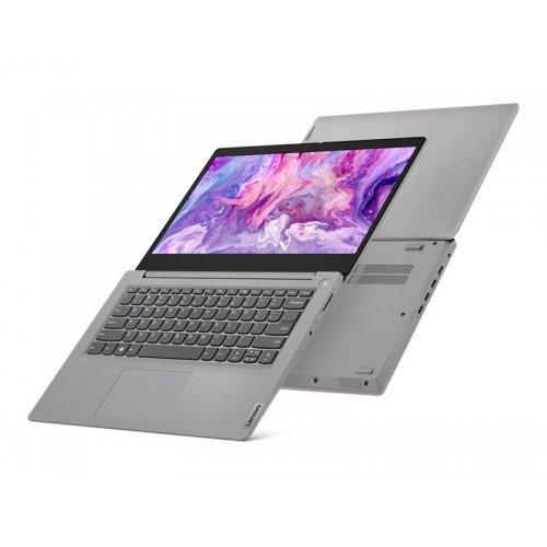 "Лаптоп Lenovo IdeaPad 3 14IIL05, сребрист, 14.0"" (35.56см.) 1920x1080 (Full HD) без отблясъци IPS, Процесор Intel Core i7-1065G7 (4x/8x), Видео интегрирано, 8GB DDR4 RAM, 512GB SSD диск, без опт. у-во, без ОС, Клавиатура- с БДС (снимка 1)"