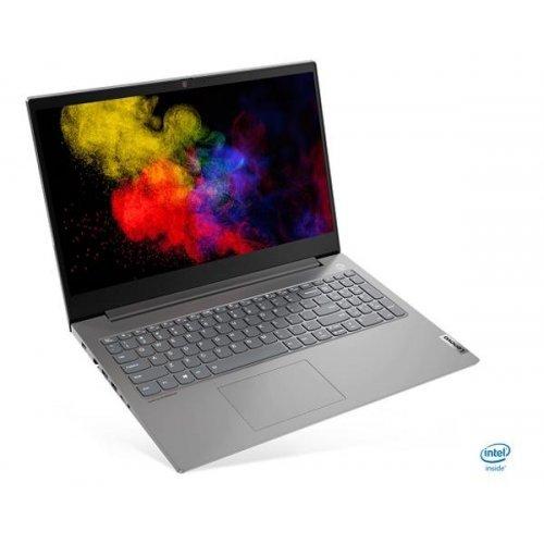 "Лаптоп Lenovo ThinkBook 15p, сив и сребрист, 15.6"" (39.62см.) 1920x1080 (Full HD) без отблясъци IPS, Процесор Intel Core i7-10750H (6x/12x), Видео nVidia GeForce GTX 1650 Max-Q/ 4GB GDDR6, 16GB DDR4 RAM, 512GB SSD диск, без опт. у-во, Windows 10 64 ОС, Клавиатура- светеща (снимка 1)"