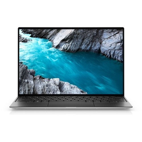 "Лаптоп Dell XPS 9310 , Intel Core  i5-1135G7 (8MB Cache, up to 4.2 GHz), 13.4"" FHD+ (1920 x 1200) Non-Touch Anti-Glare 500-Nit , HD Cam, 8GB 4267MHz LPDDR4, 512TB M.2 PCIe NVMe SSD , Intel(R) Iris Xe Graphics, Wi-Fi 6,  BT 5.0, Backlit KBD, FPR, Win10 , Silver (снимка 1)"