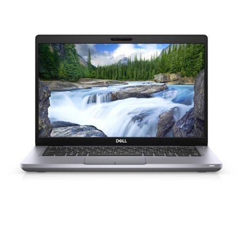 "Лаптоп Dell Latitude 5411, сив, 14.0"" (35.56см.) 1920x1080 (Full HD) без отблясъци 60Hz, Процесор Intel Core i5-10400H (4x/8x), Видео nVidia GeForce MX250/ 2GB GDDR5, 16GB DDR4 RAM, 512GB SSD диск, без опт. у-во, Windows 10 Pro 64 English ОС, Клавиатура- светеща (снимка 1)"