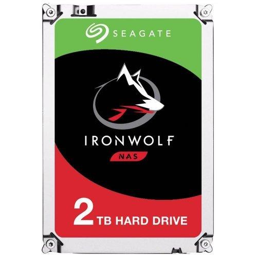 Твърд диск Seagate 2TB IronWolf ST2000VN007 SATA3 64MB 5900rpm (снимка 1)