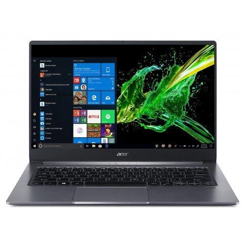 """Лаптоп Acer Swift 3 SF314-57G-34KE, сив, 14.0"""" (35.56см.) 1920x1080 (Full HD) без отблясъци IPS, Процесор Intel Core i3-1005G1 (2x/4x), Видео nVidia GeForce MX350/ 2GB GDDR5, 8GB LPDDR4 RAM, 512GB SSD диск, без опт. у-во, Windows 10 64 ОС, Клавиатура- светеща с БДС (снимка 1)"""