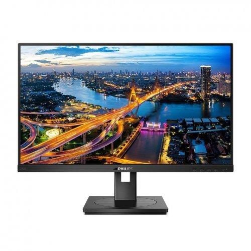 """Монитор Philips 23.8"""" 242B1/00, IPS, 16:9, 1920x1080 FHD, 4ms, 250cd/m2, HDMI, VGA, DVI, DisplayPort, USB, speakers (снимка 1)"""