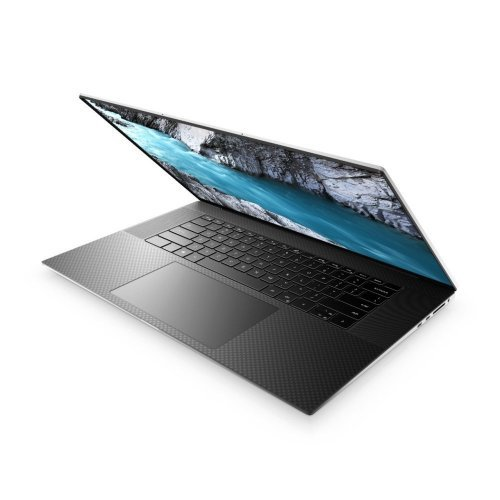 "Лаптоп Dell XPS 9700, Intel Core i7-10750H (12MB Cache, up to 5.0 GHz), 17.0"" UHD+ (3840x2400) Touch AR 500-Nit, HD Cam RGB IR, 32GB DDR4-2933MHz, 2x16GB, 2TB M.2 PCIe NVMe SSD, GeForce GTX 1650 Ti 4GB GDDR6, Wi-Fi 6 , BT, FPR, MS Win 10, Silver, 3YR NBD (снимка 1)"