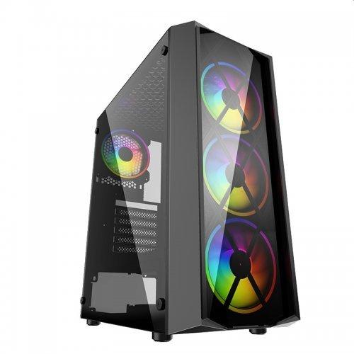Компютърна кутия PowerCase JX188-17 (снимка 1)