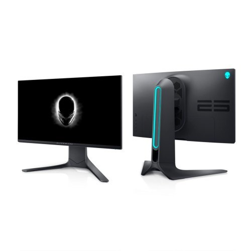 "Монитор Dell Alienware AW2521HFL, 24.5"" LED Anti-Glare, Fast IPS, 1ms GtG, AMD FreeSync Premium, G-Sync, 1000:1, 400 cd/m2, 1920x1080 FullHD, 240 Hz, 99% sRGB ,HDMI, DP, USB 3.0 Hub, Height Adjustable, Pivot, Black, 5Y (снимка 1)"