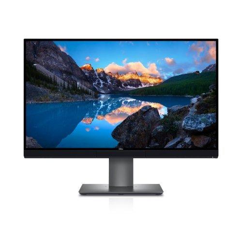 "Монитор Dell UP2720Q, 27"" Wide LED Anti-Glare, IPS Panel, UltraSharp, 6ms, 1300:1, 350 cd/m2, 3840x2160, HDMI, DP, Thunderbolt 3 (USB-C), USB 3.0 Hub, Height Adjustable, Pivot, Swivel, Tilt, Black, 5Y (снимка 1)"