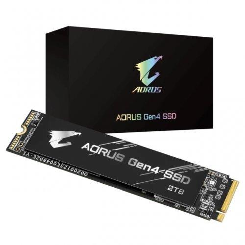 SSD Gigabyte 2TB AORUS, NVMe, PCIe Gen4 (снимка 1)