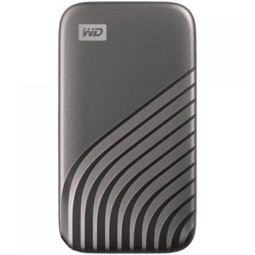 Външен твърд диск Western Digital 2TB My Passport External SSD USB 3.2, Space Gray, 1050MB/s Read, 1000MB/s Write, PC & Mac Compatiable (снимка 1)