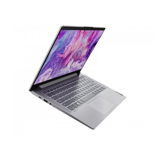 """Лаптоп Lenovo IdeaPad 5 14ITL05 82FE, сив, 14.0"""" (35.56см.) 1920x1080 (Full HD) без отблясъци IPS, Процесор Intel Core i7-1165G7 (4x/8x), Видео nVidia GeForce MX450/ 2GB GDDR6, 16GB DDR4 RAM, 1TB SSD диск, без опт. у-во, без ОС, Клавиатура- светеща с БДС (снимка 1)"""