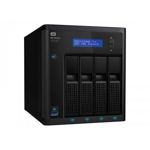 NAS устройство Western Digital My Cloud EX4100 Case NAS 4-Bay Diskless 1.3GHz Marvell ARMADA 388 dual-core processor 2GB DDR3 RAM RTL (снимка 1)