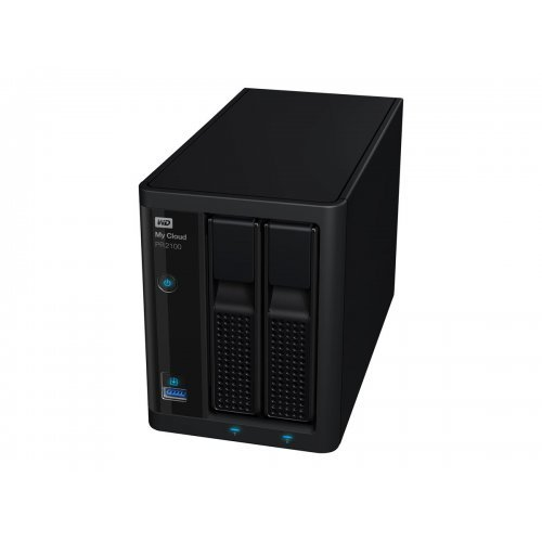 NAS устройство Western Digital My Cloud Pro PR2100 Case 2Bay NAS Diskless 1.6GHz QuadCore processor 4Gb RAM RAID 0 1 JBOD 2xUSB3.0 External RTL (снимка 1)