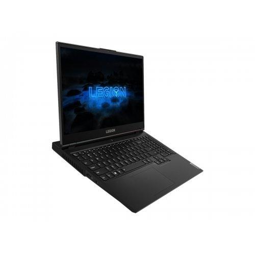 "Лаптоп Lenovo Legion 5 15ARH05H 82B1 - Ryzen 5 4600H / 3 GHz - FreeDOS - 8 GB RAM - 512 GB SSD NVMe - 15.6"" 1920 x 1080 (Full HD) - GF RTX 2060 / Radeon Graphics - Bluetooth, Wi-Fi - phantom black - kbd: English (снимка 1)"