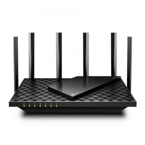Безжичен рутер TP-Link Archer AX73, AX5400, Wi-Fi 6 (AX), MU-MIMO, 200+ устройства, Gigabit, USB 3.0 (снимка 1)