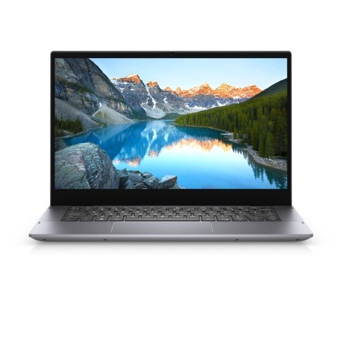 """Лаптоп Dell Inspiron 14 5406 2in1, Intel Core i5-1135G7 (8MB Cache, up to 4.2 GHz), 14.0"""" FHD (1920x1080) WVA LED Touch, HD Cam, 8GB, 8Gx1, DDR4, 3200MHz, 256GB M.2 PCIe NVMe, Intel Iris Xe Graphics, Wi-Fi 6, BT, Backlit KBD, Active Pen, FPR, Win 10 (снимка 1)"""