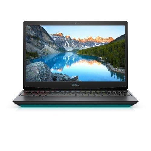 "Лаптоп Dell G5 15 5500, черен, 15.6"" (39.62см.) 1920x1080 (Full HD) без отблясъци 300Hz, Процесор Intel Core i7-10750H (6x/12x), Видео nVidia GeForce RTX 2060/ 6GB GDDR6, 16GB DDR4 RAM, 1TB SSD диск, без опт. у-во, Windows 10 64 English ОС, Клавиатура- светеща (снимка 1)"