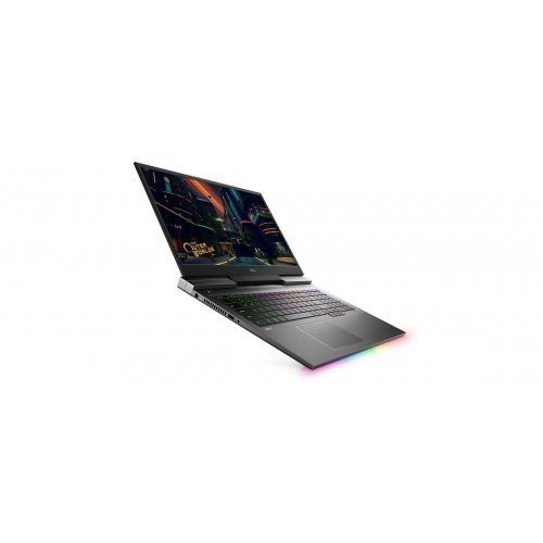 "Лаптоп Dell G7 17 7700, черен, 17.3"" (43.94см.) 1920x1080 (Full HD) без отблясъци 144Hz, Процесор Intel Core i7-10750H (6x/12x), Видео nVidia GeForce RTX 2060/ 6GB GDDR6, 16GB DDR4 RAM, 512GB SSD диск, без опт. у-во, Windows 10 64 English ОС, Клавиатура- светеща (снимка 1)"