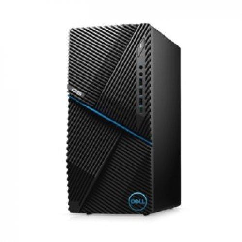 Настолен компютър DELL Dell G5 Desktop, Core i5-10400F (6C, 12M, 2.9GHz to 4.3GHz), DTG5I510400F8G512G1660_WIN-14, Win 10 Pro (снимка 1)