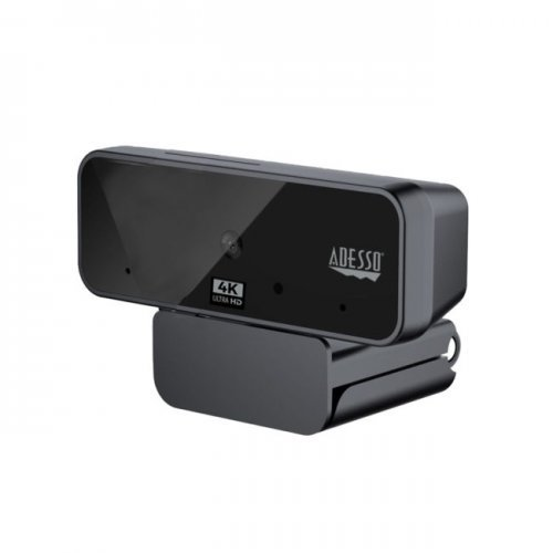 WEB камера ADESSO CyberTrack H6 4K(8.0 Megapixel) Ultra HD USB Webcam with Auto focus, Built-in Dual Microphone & Privacy Shutter Cover (снимка 1)