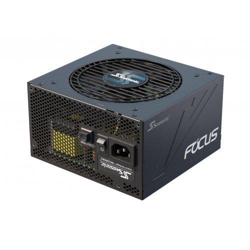 Захранващ блок Seasonic FOCUS GX 750W, 80 Plus GOLD, Fully modular DC cables, 12 cm fan Fluid Dynamic Bearing, Hybrid silent fan control (снимка 1)