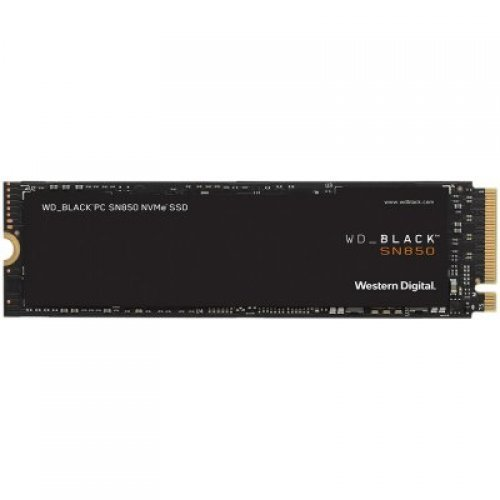 SSD Western Digital 500GB Black (M.2, PCIe Gen4 x4) (снимка 1)