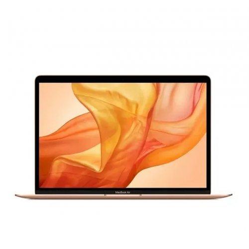 "Лаптоп Apple MacBook Air, златист, 13.3"" (33.78см.) 2560x1600 (WQXGA) 60Hz IPS, Процесор Apple M1 (8 Core) 3.20 GHz, 7C GPU, Видео 7-core GPU, 8GB LPDDR4X RAM, 256GB SSD диск, без опт. у-во, MacOS X Sierra ОС, Клавиатура- светеща с БДС (снимка 1)"