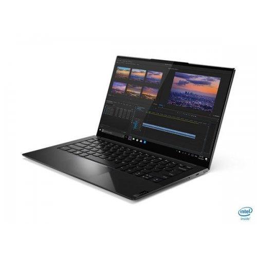 "Лаптоп Lenovo Yoga 9 14ITL5, черен, 14.0"" (35.56см.) 1920x1080 (Full HD) без отблясъци, Процесор Intel Core i7-1185G7 (4x/8x), Видео интегрирано, 16GB LPDDR4X RAM, 1TB SSD диск, без опт. у-во, Windows 10 64 ОС, Клавиатура- с БДС (снимка 1)"
