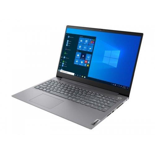 "Лаптоп Lenovo ThinkBook 15p, сив, 15.6"" (39.62см.) 1920x1080 (Full HD) без отблясъци IPS, Процесор Intel Core i5-10300H (4x/8x), Видео nVidia GeForce GTX 1650/ 4GB GDDR6, 16GB DDR4 RAM, 512GB SSD диск, без опт. у-во, FreeDOS ОС, Клавиатура- светеща с БДС (снимка 1)"
