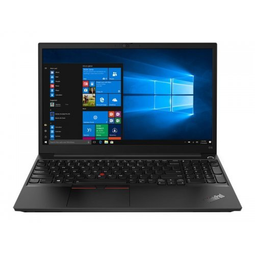 """Лаптоп Lenovo ThinkPad Edge E15, черен, 15.6"""" (39.62см.) 1920x1080 (Full HD) без отблясъци IPS, Процесор Intel Core i7-1165G7 (4x/8x), Видео nVidia GeForce MX450/ 2GB GDDR5, 16GB DDR4 RAM, 512GB SSD диск, без опт. у-во, Windows 10 Pro 64 English ОС, Клавиатура- светеща с БДС (снимка 1)"""