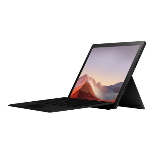 "Лаптоп-таблет Microsoft Laptop-Tablet Surface Pro7, черен, 12.3"" (31.24см.) 2736x1824 (WQXGA+) тъч, Процесор Intel Core i5-1035G4 (4x/8x), Видео Intel Iris Plus, 8GB LPDDR4X RAM, 256GB SSD диск, без опт. у-во, Windows 10 Pro ОС (снимка 1)"