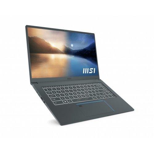 "Лаптоп MSI Prestige 15 A11SCX, сив, 15.6"" (39.62см.) 1920x1080 (Full HD) без отблясъци 60Hz IPS, Процесор Intel Core i7-1185G7 (4x/8x), Видео nVidia GeForce GTX 1650 Max-Q/ 4GB GDDR6, 16GB DDR4 RAM, 1TB SSD диск, без опт. у-во, Windows 10 ОС, Клавиатура- светеща (снимка 1)"