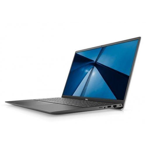 """Лаптоп Dell Vostro 15 5502, сив, 15.6"""" (39.62см.) 1920x1080 (Full HD) без отблясъци, Процесор Intel Core i7-1165G7 (4x/8x), Видео NVIDIA GeForce MX330/ 2GB GDDR5, 16GB DDR4 RAM, 512GB SSD диск, без опт. у-во, Linux Ubuntu ОС, Клавиатура- светеща (снимка 1)"""