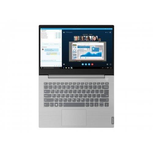 "Лаптоп Lenovo ThinkBook 14, сив, 14.0"" (35.56см.) 1920x1080 (Full HD) без отблясъци IPS, Процесор Intel Core i5-1035G1 (4x/8x), Видео Intel UHD Graphics, 8GB DDR4 RAM, 256GB SSD диск, без опт. у-во, Windows 10 Pro 64 English ОС, Клавиатура- с БДС (снимка 1)"
