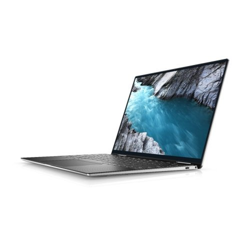 "Лаптоп Dell XPS 13 9310, сребрист, 13.4"" (34.04см.) 3840x2400 (UHD+) без отблясъци 60Hz WVA тъч, Процесор Intel Core i7-1185G7 (4x/8x), Видео Intel Iris Xe Graphics, 16GB LPDDR4X RAM, 1TB SSD диск, без опт. у-во, Windows 10 Pro 64 ОС (снимка 1)"