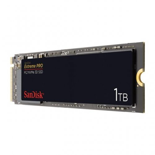SSD SanDisk 1 TB Extreme PRO, M.2, NVMe, 3D SSD (снимка 1)