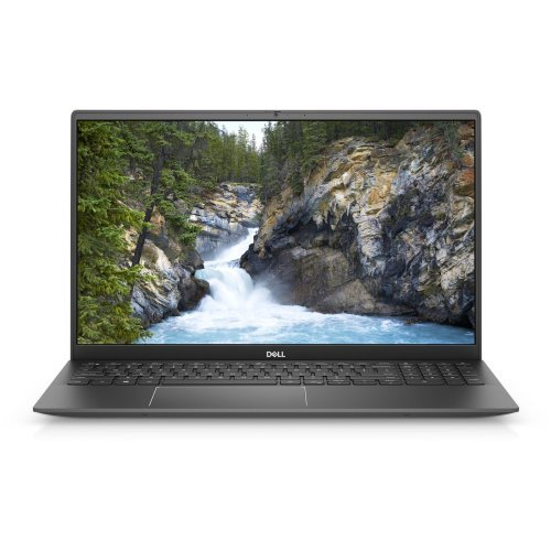 "Лаптоп Dell Vostro 15 5502, сив, 15.6"" (39.62см.) 1920x1080 (Full HD) без отблясъци 60Hz, Процесор Intel Core i5-1135G7 (4x/8x), Видео Intel Iris Xe Graphics, 8GB DDR4 RAM, 256GB SSD диск, без опт. у-во, Windows 10 Pro 64 English ОС, Клавиатура- светеща (снимка 1)"