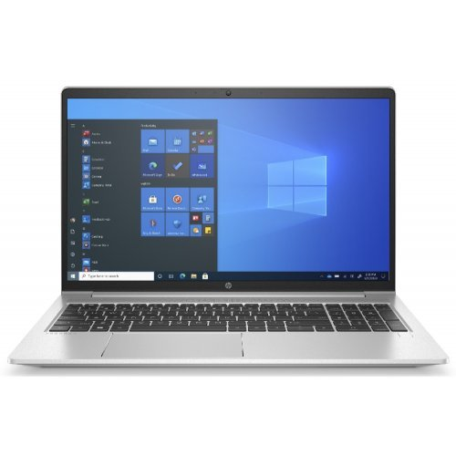 "Лаптоп HP ProBook 450 G8, сребрист, 15.6"" (39.62см.) 1920x1080 (Full HD) без отблясъци 60Hz, Процесор Intel Core i5-1135G7 (4x/8x), Видео nVidia GeForce MX450/ 2GB GDDR5, 8GB DDR4 RAM, 512GB SSD диск, без опт. у-во, Windows 10 Pro 64 ОС, Клавиатура- светеща (снимка 1)"