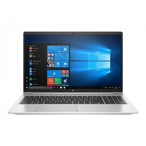 """Лаптоп HP ProBook 450 G8, сребрист, 15.6"""" (39.62см.) 1920x1080 (Full HD) без отблясъци IPS, Процесор Intel Core i5-1135G7 (4x/8x), Видео nVidia GeForce MX450/ 2GB GDDR5, 8GB DDR4 RAM, 512GB SSD диск, без опт. у-во, FreeDOS ОС, Клавиатура- светеща с БДС (снимка 1)"""