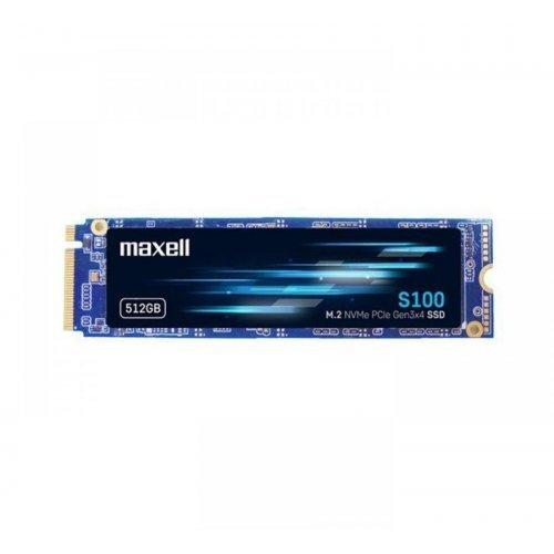 SSD MAXELL 512GB, M.2 2280  PCI-e 3.0 x4 NVMe (снимка 1)