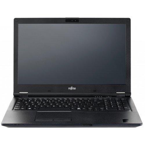 """Лаптоп Fujitsu Lifebook E5510, черен, 15.6"""" (39.62см.) 1920x1080 (Full HD) без отблясъци IPS, Процесор Intel Core i5-10210U (4x/8x), Видео Intel UHD, 8GB DDR4 RAM, 256GB SSD диск, без опт. у-во, Windows 10 Pro 64 ОС, Клавиатура- светеща (снимка 1)"""