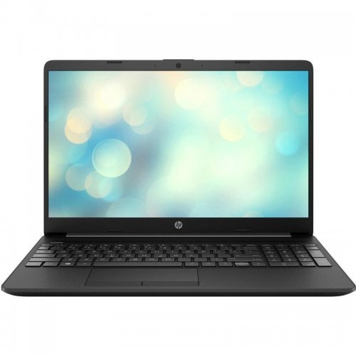 "Лаптоп HP 15-dw1017nq, черен, 15.6"" (39.62см.) 1920x1080 (Full HD), Процесор Intel Pentium N5030 (4x/4x), Видео Intel UHD, 4GB DDR4 RAM, 256GB SSD диск, без опт. у-во, FreeDOS ОС, Клавиатура- с БДС (снимка 1)"