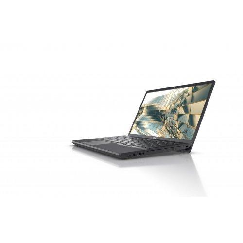 """Лаптоп Fujitsu LIFEBOOK A3510, черен, 15.6"""" (39.62см.) 1920x1080 (Full HD) без отблясъци, Процесор Intel Core i5-1035G1 (4x/8x), Видео Intel UHD, 8GB DDR4 RAM, 256GB SSD диск, без опт. у-во, FreeDOS ОС, Клавиатура- с БДС (снимка 1)"""