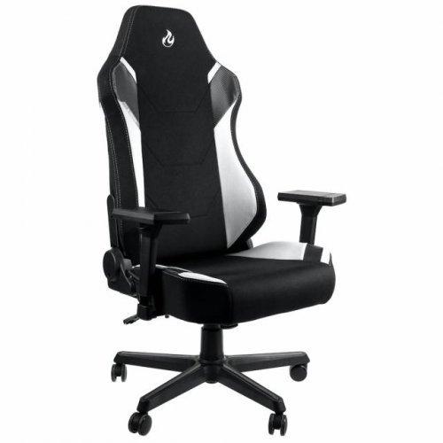 Геймърски стол Nitro Concepts X1000, Radiant White (снимка 1)